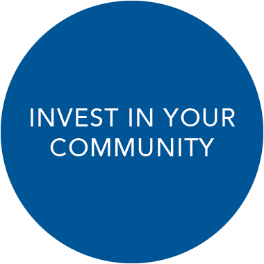 Invest in your community