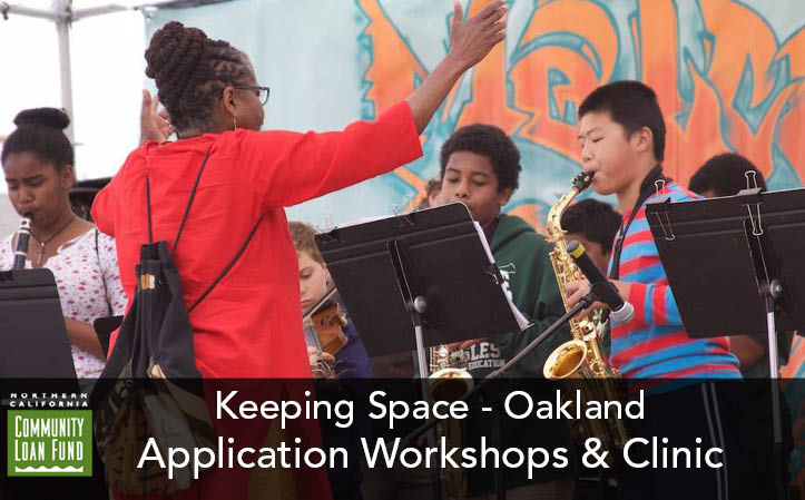 Keeping Space - Oakland: Financial Assistance Application Workshops & Clinic
