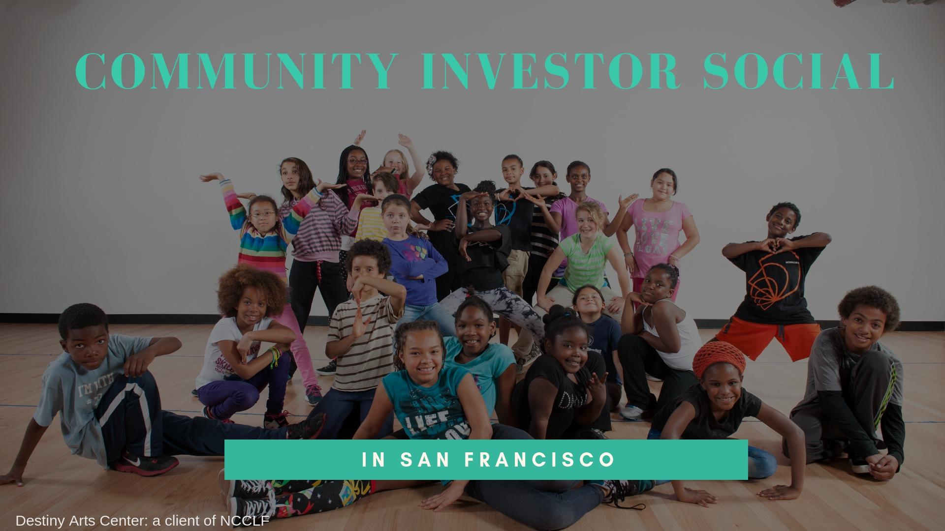 Community Investor Social in San Francisco