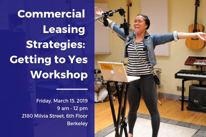 Workshop: Commercial Leasing Strategies - Getting to Yes