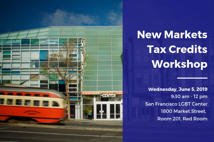 Workshop: New Markets Tax Credits