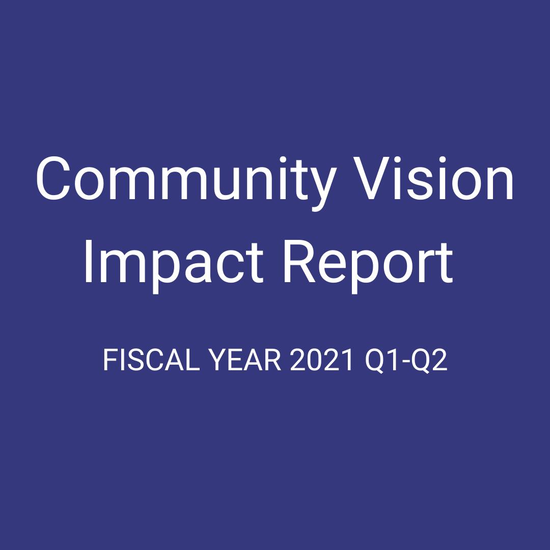 community vision impact report