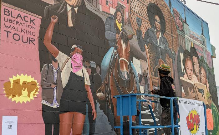 Black Liberation Mural