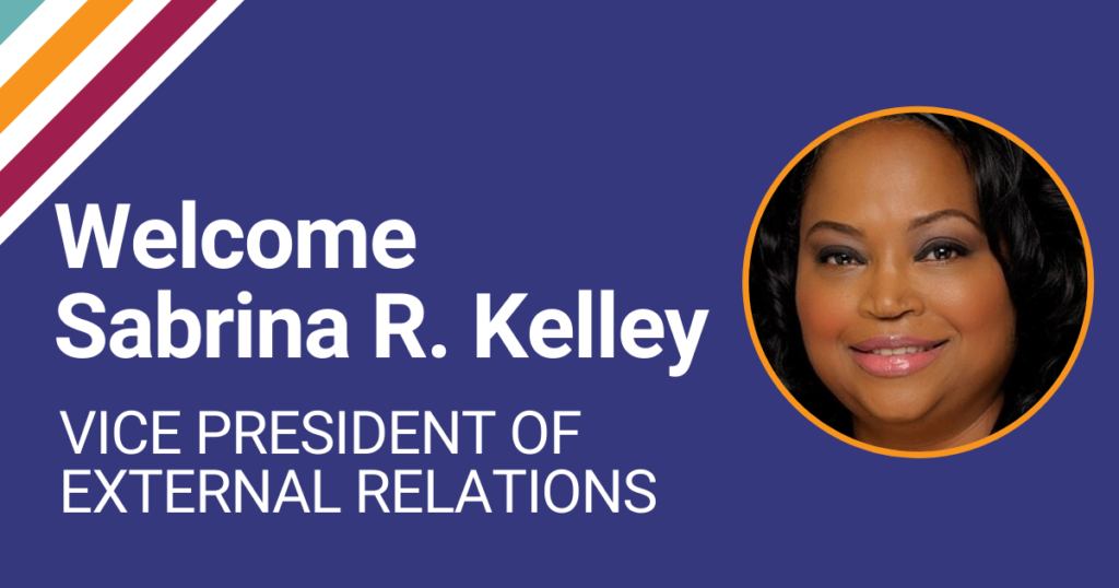 Sabrina R. Kelley joins Community Vision as Vice President of External Relations